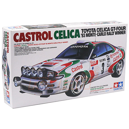 타미야 24125 1/24 토요타 셀리카 GT-FOUR '93 MONTE-CARLO RALLY WINNER